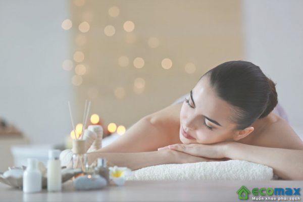 Ứng dụng máy nước nóng cho spa