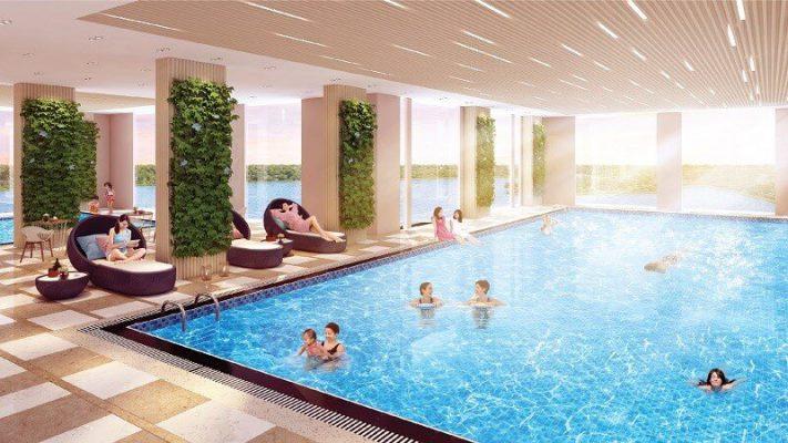 Ứng dụng máy bơm nhiệt cho bể bơi bốn mùa