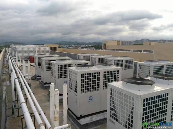 Máy bơm nhiệt không khí công nghiệp