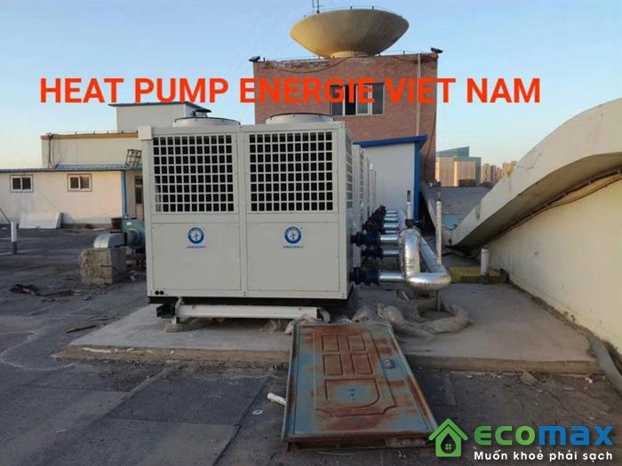 Máy bơm nhiệt heat pump không khí