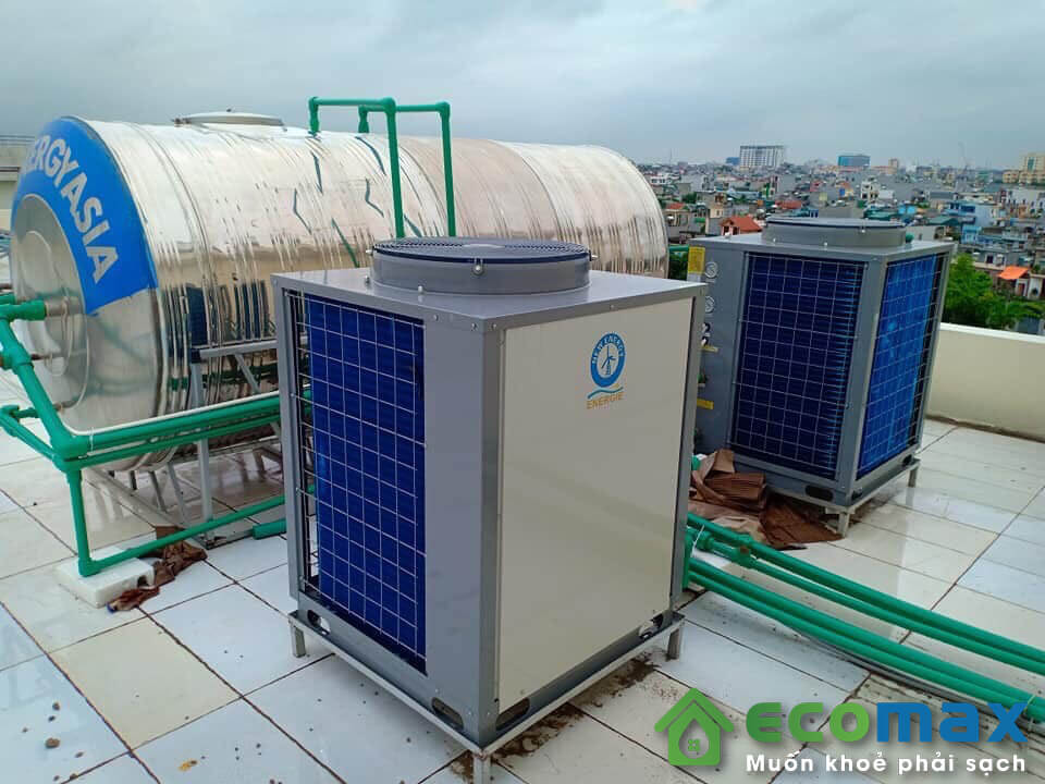 Máy bơm nhiệt heat pump công nghiệp