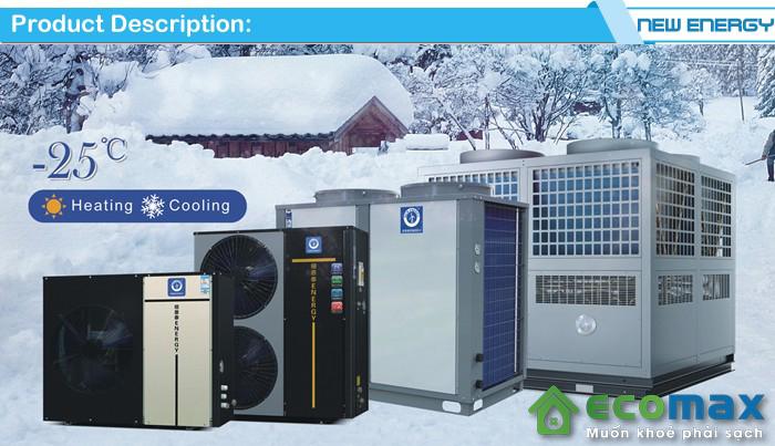 Các loại máy bơm nhiệt heat pump