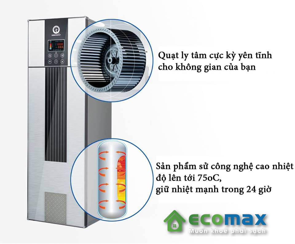 may bom nhiet heat pump new ENERGY