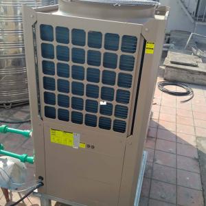 may bom nhiet trung tam heat pump midea 4