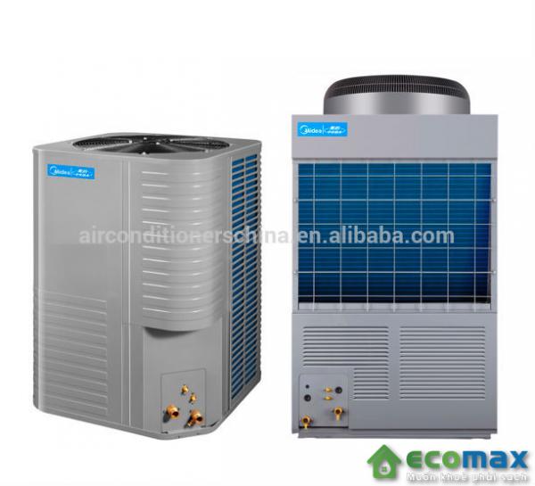 may nuoc nong trung tam heat pump midea 6