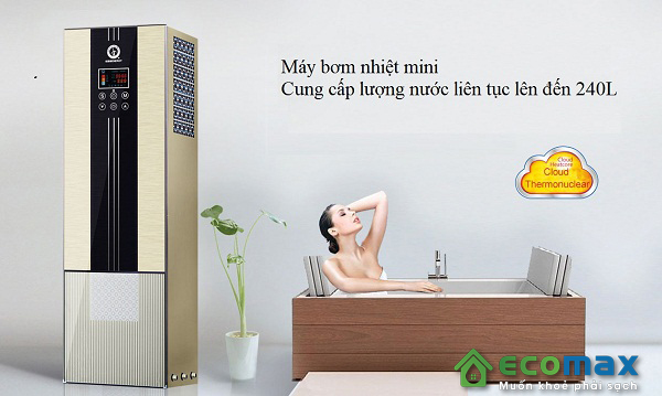 may bom nhiet nuoc nong gia dinh