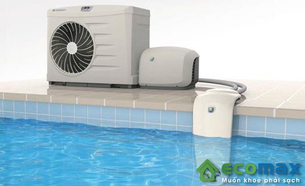 ứng dụng máy bơm nhiệt cho bể bơi