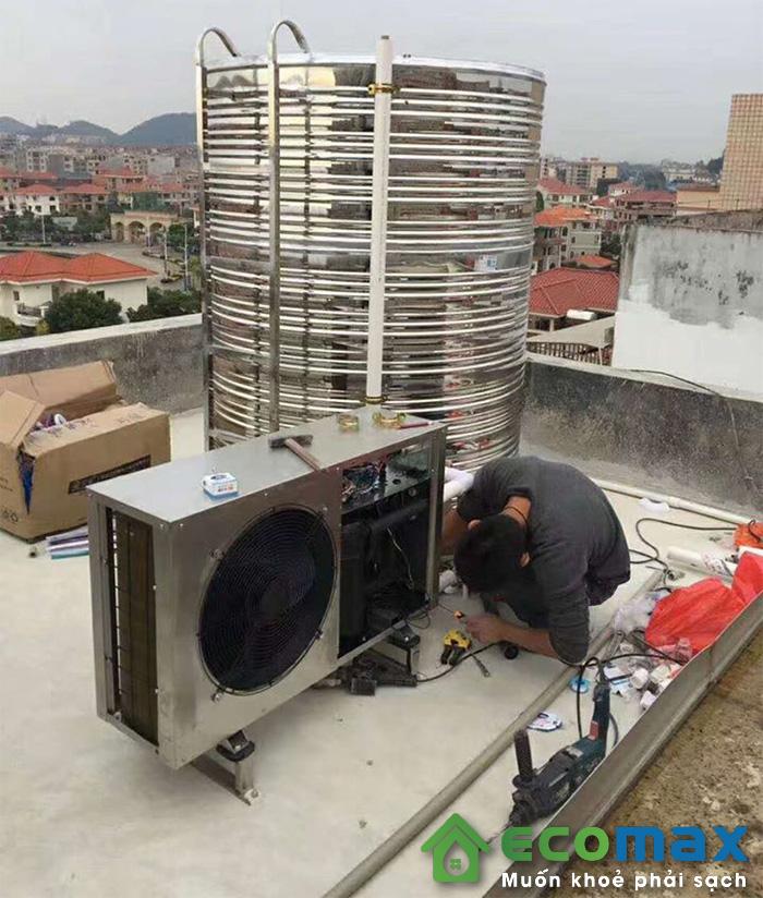 may bom nhiet heat pump KF200 X