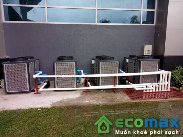 may bom nhiet nuoc nong trung tam audsun heat pump ARG 20H 7