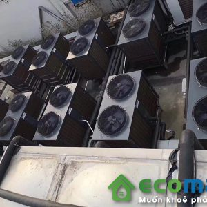 may bom nhiet nuoc nong trung tam audsun heat pump ARG 30H 3