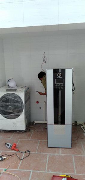 máy bơm nhiệt heatpump tại Hồ Tây