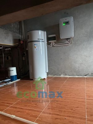 may bom nhiet heatpump egeo 200l ecomax