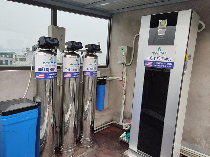 Máy nước nóng trung tâm tại Thuỵ Khuê