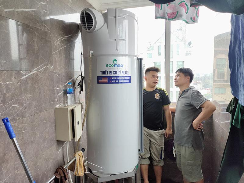 Máy bơm nhiệt heatpump tại 26A Bà triệu