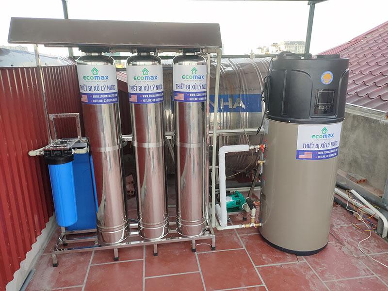 máy nước nóng trung tâm midea