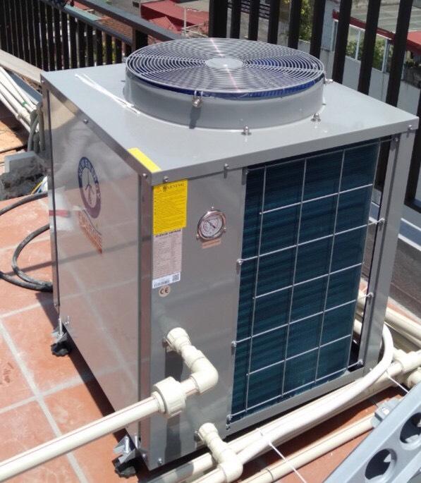 Hệ thống bơm nhiệt heat pump công suất lớn